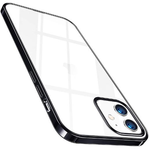 TORRAS Crystal Clear Case for iPhone 12 mini Black