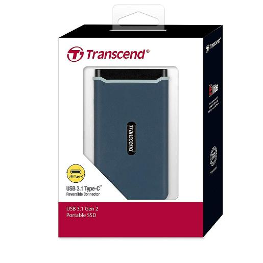 Transcend EXTERNAL SSD RUGGED 1050M/P READ 950MP WRITE (NVMe) 240GB