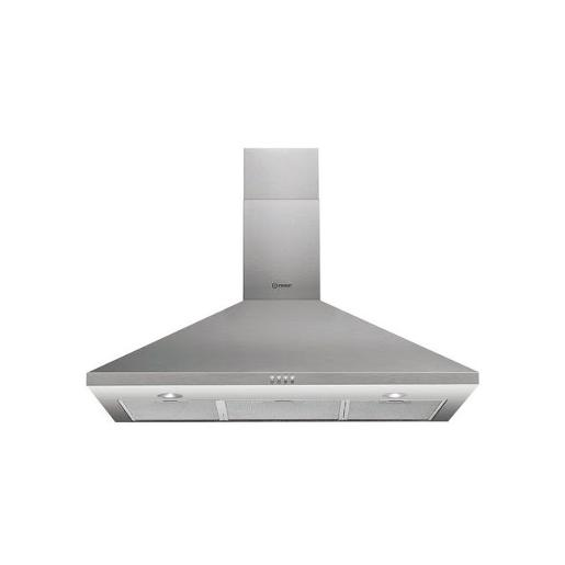 INDESIT Hood in Stainless Steel with air-flow 416