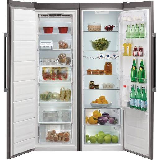 Ariston twins Refrigerator Stainless Steel A++