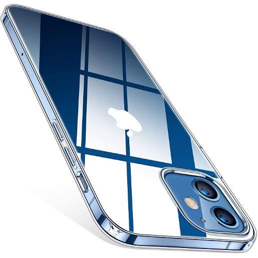 TORRAS Crystal Clear Case for iPhone 12 mini Clear